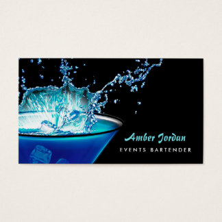 Moody Blue Beverage Splash Edgy Events Bartender