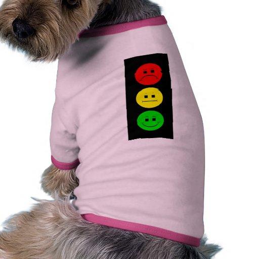 Moody Stoplight Pet T Shirt