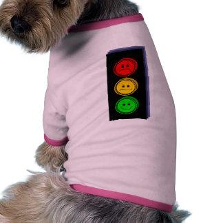 Moody Stoplight Extruded Dog Tshirt