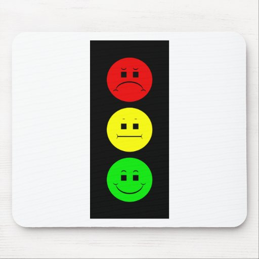 Moody Stoplight Mouse Pad