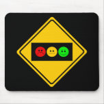 Moody Stoplight Trio Ahead Mouse Mat