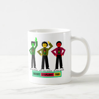 Moody Stoplight Trio Characters Mug