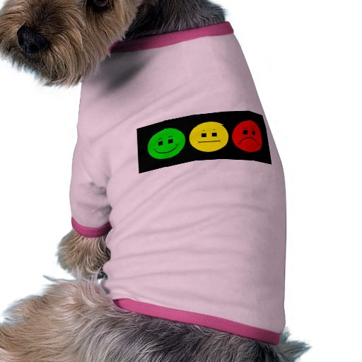 Moody Stoplight Trio Lefty Green Dog Shirt