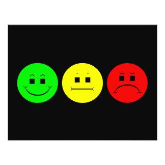 Moody Stoplight Trio Lefty Green Full Color Flyer