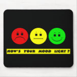 Moody Stoplight Trio Mood Light Mouse Mats
