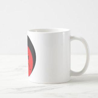 Moody Stoplight Trio Ron Buckstopper Face Basic White Mug