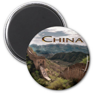 Moody View of The Great Wall of China Magnet