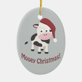 Mooey Christmas! Christmas Ornament