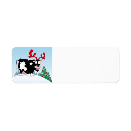 Mooey Christmas Cow