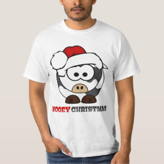 Mooey Christmas Cow T-shirt