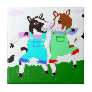 Moohug Designs With Cows Tile