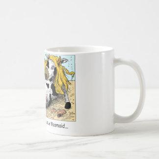 Moomaid Funny Cow Cartoon Gifts Tees Collectibles Basic White Mug