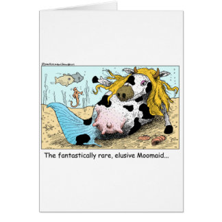Moomaid Funny Cow Cartoon Gifts Tees Collectibles Cards