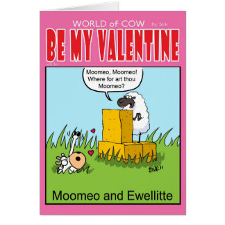 Moomeo and Eweliette Greeting Card