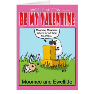 Moomeo and Ewelitte Greeting Card
