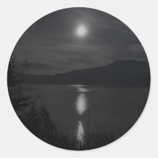 moon-1988 round sticker