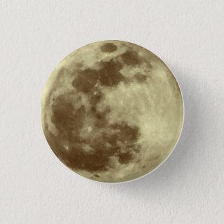 Moon 3 Cm Round Badge