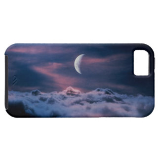 Moon above the clouds iPhone 5 cover