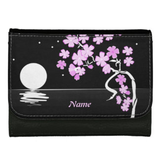 """""""Moon and Flowers"""" Wallet"""