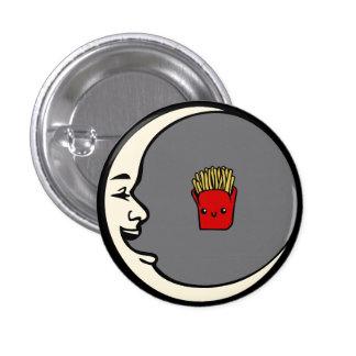 Moon and Fries Pin