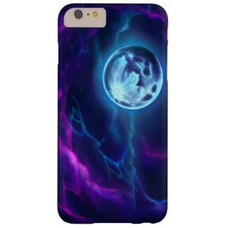Moon and Nebula Phone Case