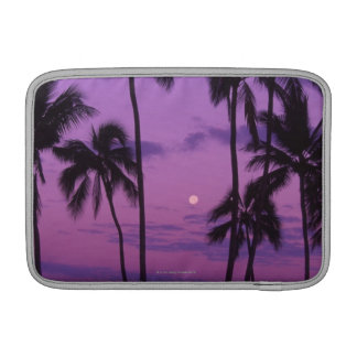 Moon and Palm Tree MacBook Sleeve