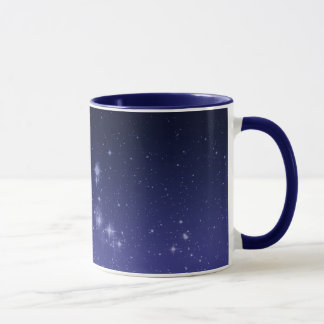 Moon and Shining Stars Mug