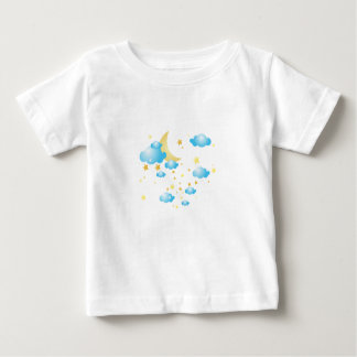 Moon and Star Baby T-Shirt