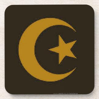 Moon and Star Islamic Coaster