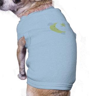 Moon and Star Sleeveless Dog Shirt