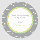 Moon and Stars Address Label/Favour Sticker