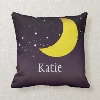 Moon and Stars Cushion