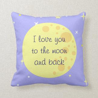 Moon and Stars Customizable Pillow
