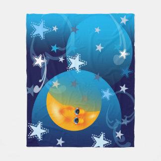 Moon and Stars Goodnight Blanket