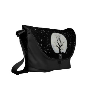 Moon and Stars Messenger Bag
