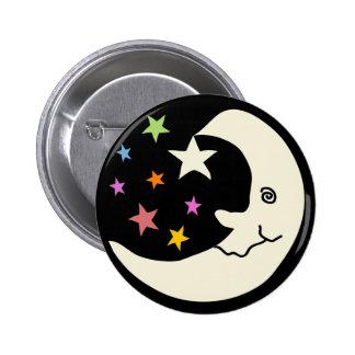 MOON AND STARS PIN
