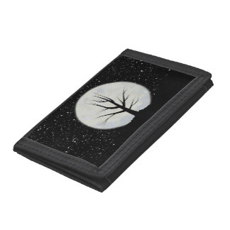 Moon and Stars Tri-fold Wallet