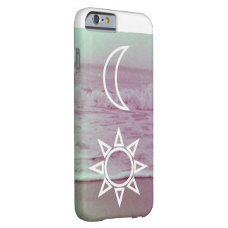 Moon and Sun Design iPhone 6 Barely There Case