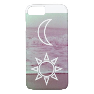 Moon and Sun Design iPhone 7 Barely There Case
