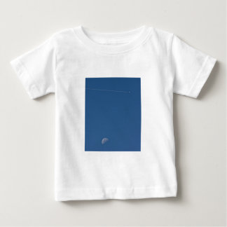 Moon and Vapour Trail Infant Tee Shirt