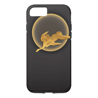Moon and wild geese iPhone 8/7 case