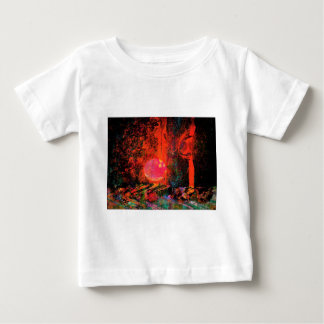 Moon Art | Pink Champagne And You Baby T-Shirt