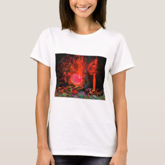 Moon Art | Pink Champagne And You T-Shirt