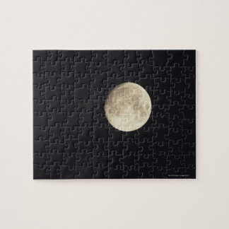 Moon at night jigsaw puzzle
