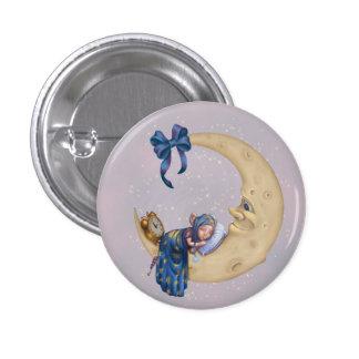 Moon Baby Elf 3 Cm Round Badge