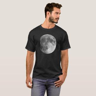 Moon Basic Dark Men's T-Shirt - Planets