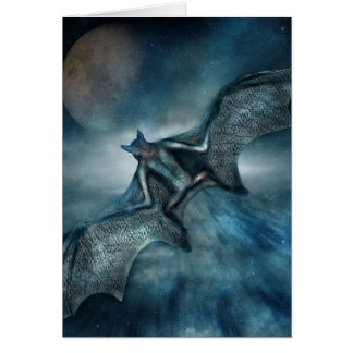 Moon Bat Card