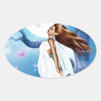 Moon Bathing Sticker