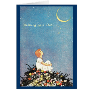 Moon Birthday Wishes Card