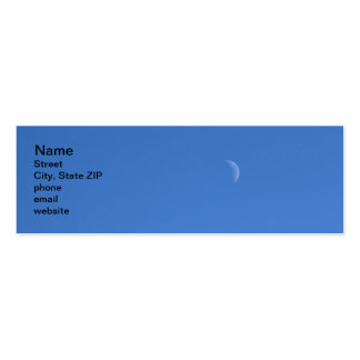 Moon Double-Sided Mini Business Cards (Pack Of 20)